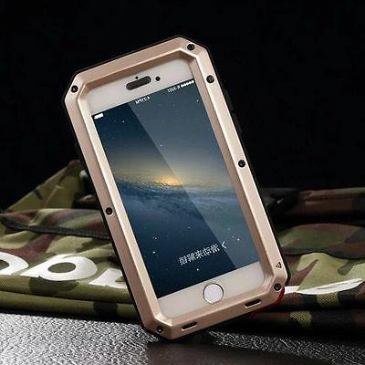 Military Shockproof Heavy Duty Tempered Glass Metal Cover Ca