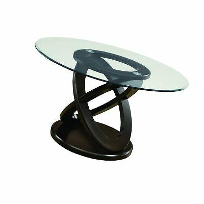 "Monarch Specialties I 1749 Tempered Glass Dining Table 48"" E"