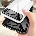 New Tempered Glass shell Business Bright Face phone Case Har