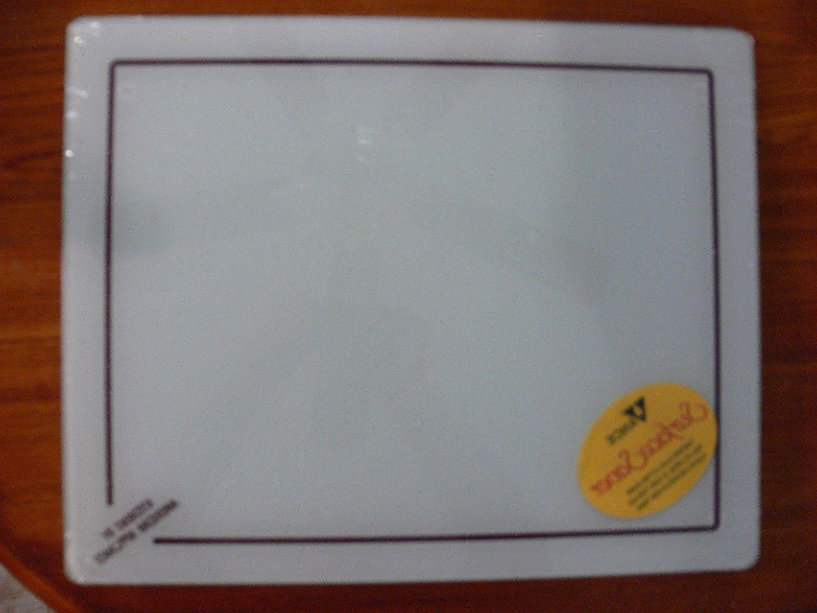 "New Vance Glass Cutting Board 16"" x 20"" Tempered Surface Sav"
