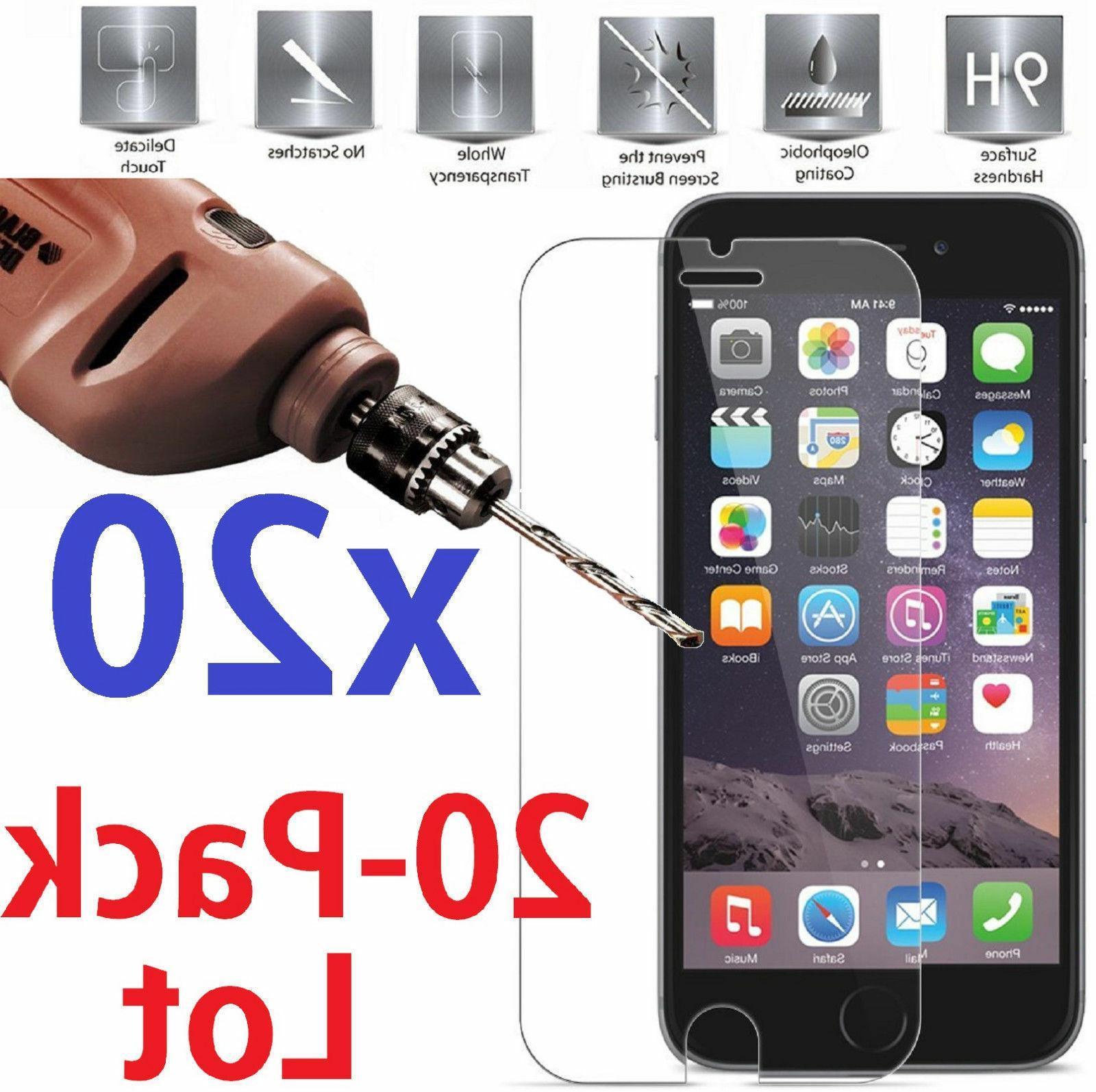Premium  iPhone X Tempered Glass BULK RETAIL PACK-USA 5 DAYS