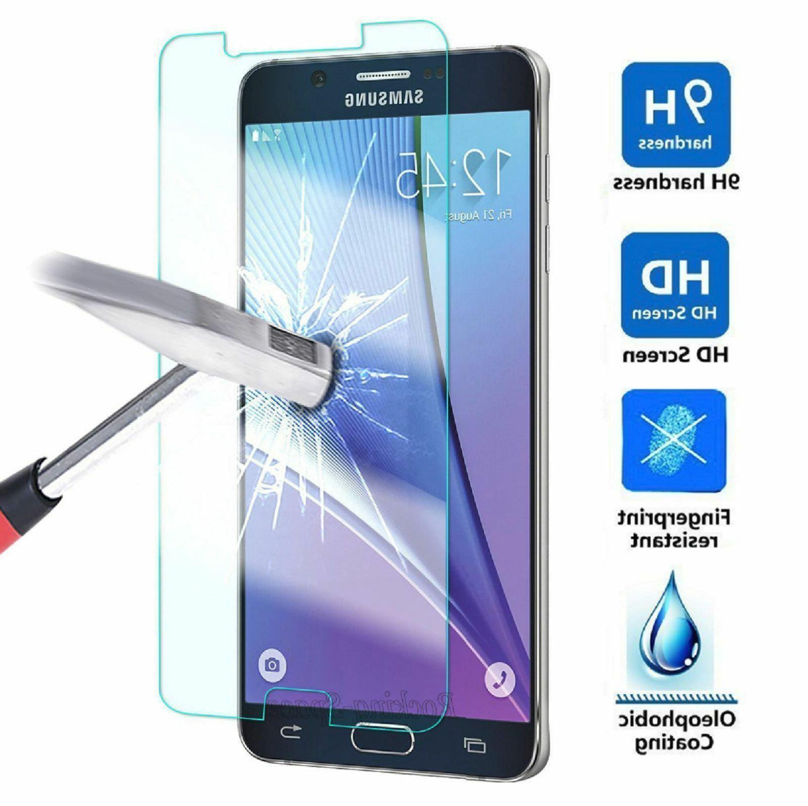 Samsung Galaxy J7 2017 Shockproof Tempered Glass Screen Prot