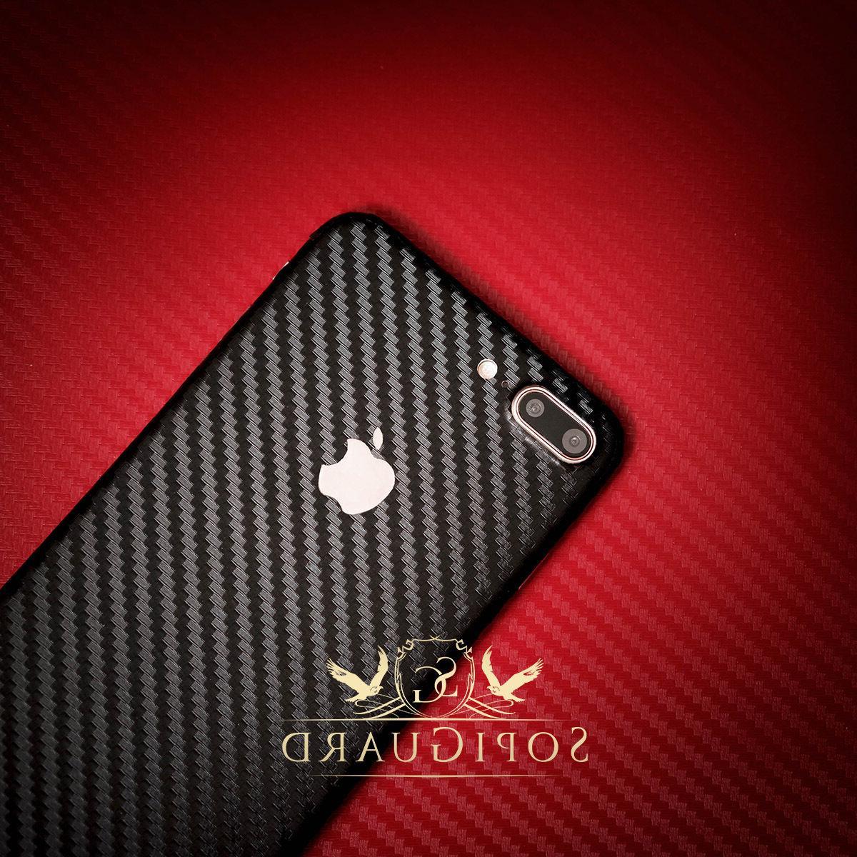 SopiGuard Carbon Fiber Brushed Full Body Skin for Apple iPho