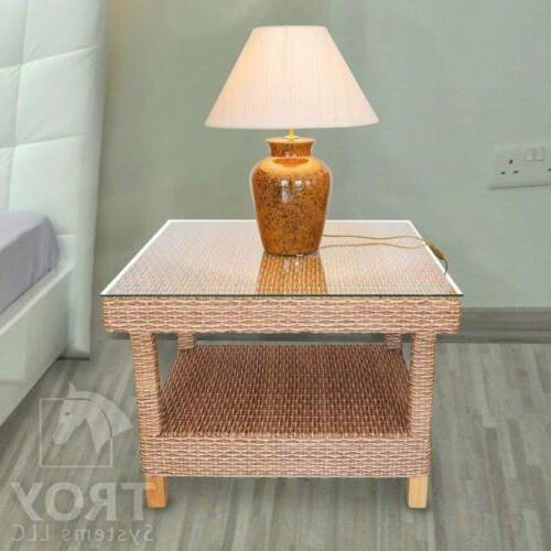 TroySys Square Glass Table Top Custom Annealed Tempered,