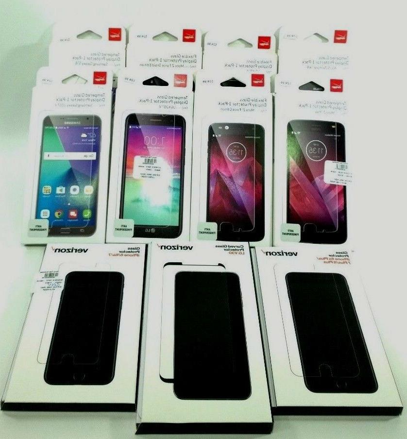 Verizon Tempered Glass Display Guard Screen Protector 9H har