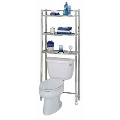 Zenna Home 9035SS, 3-Tier Over-The-Toliet Bathroom Spacesave