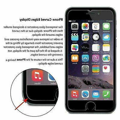 For Apple iPhone 9H Glass Screen Protector【2 Pack】