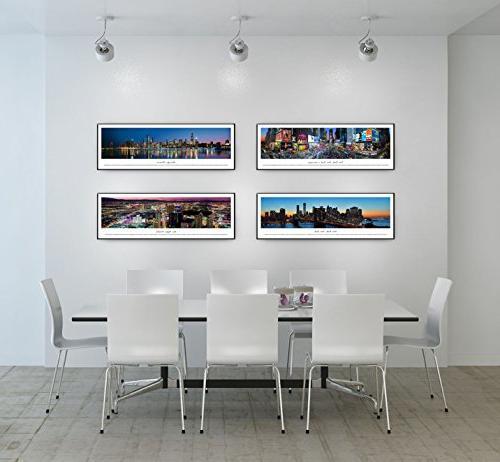 Denver, Colorado - Panoramas Skyline with Standard Frame