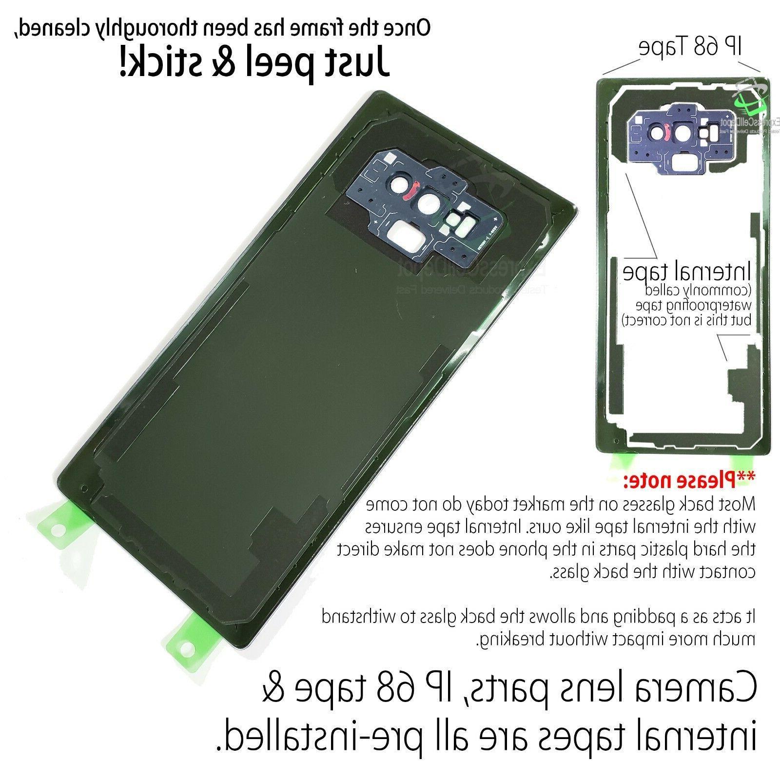 Back Kit For 9 w.CE+Camera Tape
