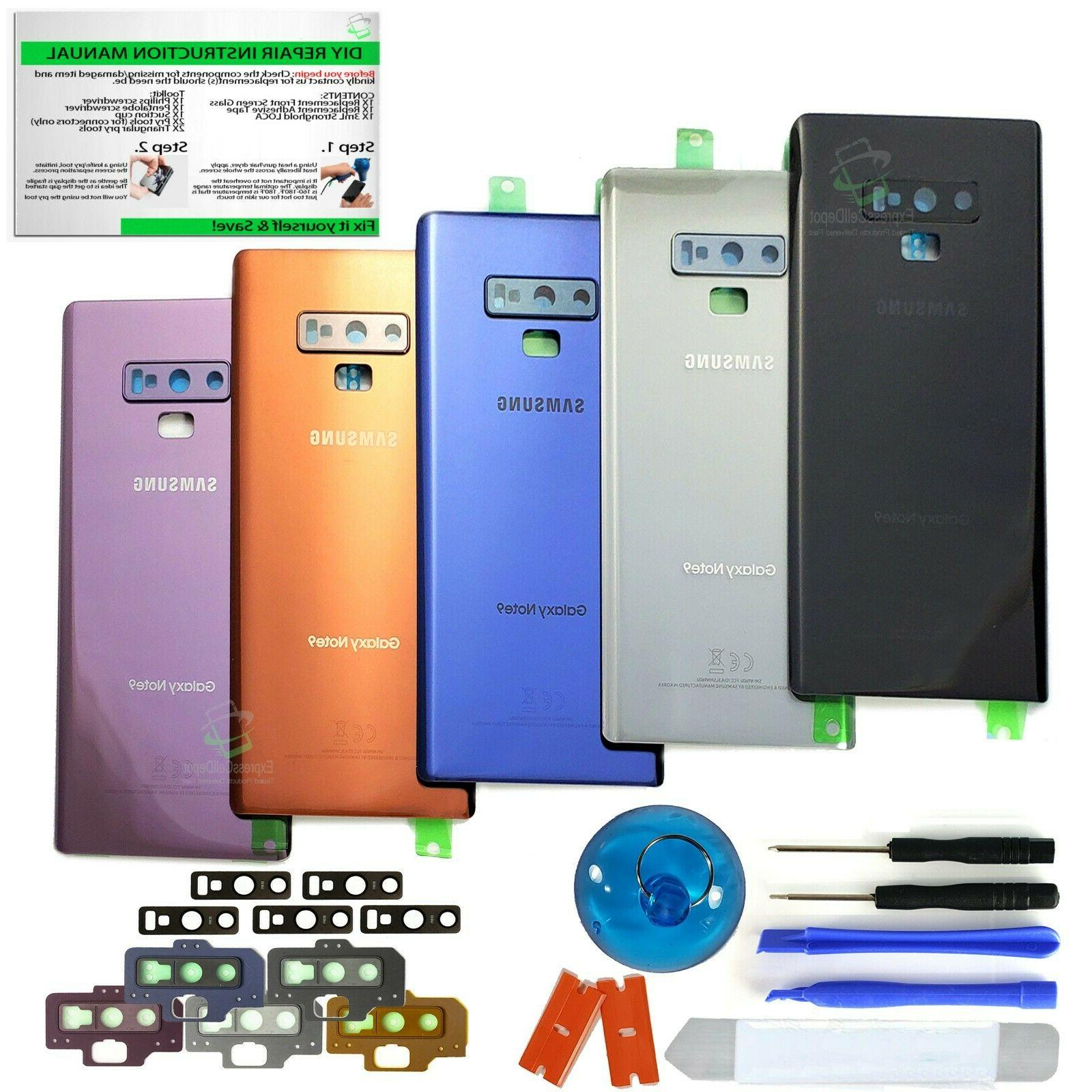 back glass replacement kit for samsung galaxy