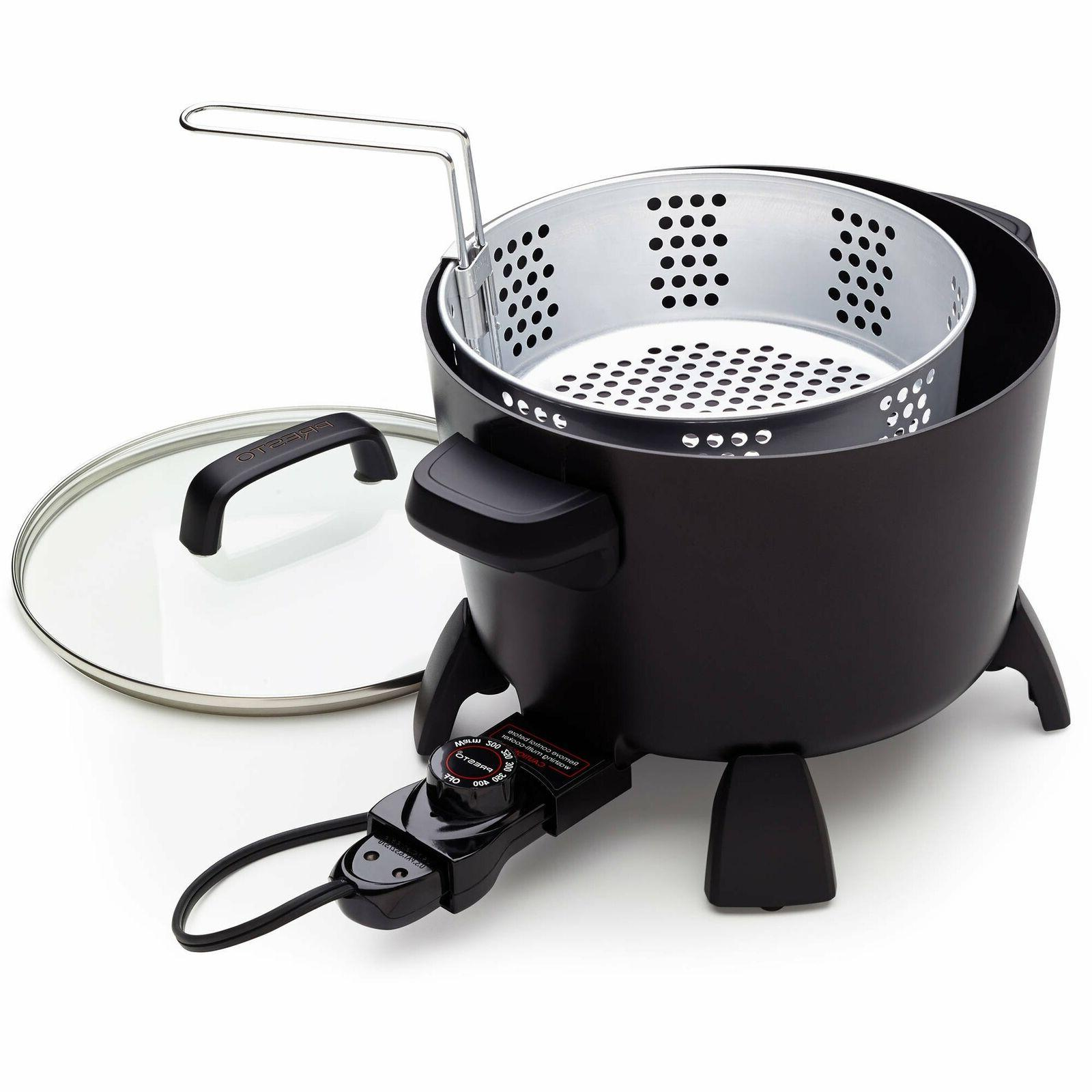 Presto Big Kettle Multi-Cooker & Steamer Extra-Large With Te