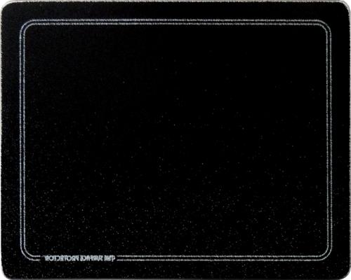 Vance 20 X 16 inch Black with White Border Surface Saver Tem