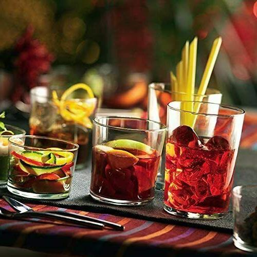 Bormioli Set Of Clear Tempered Glass