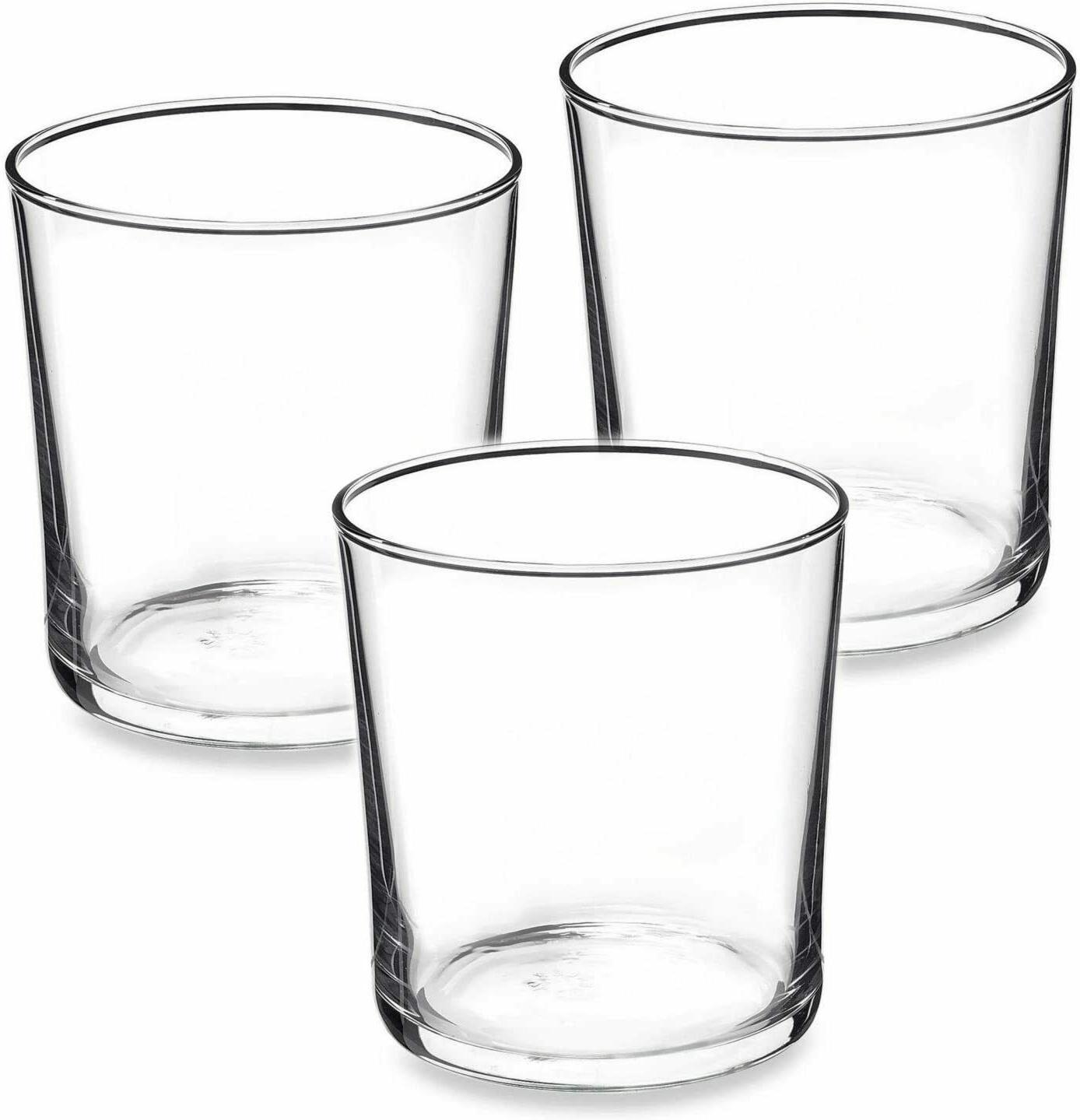 Bormioli Of Clear Tempered Glass