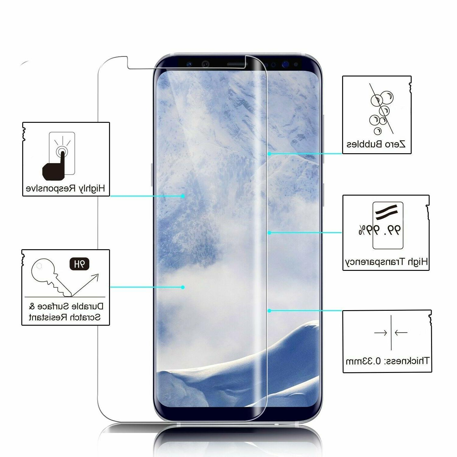 Case Friendly Tempered Screen Protector Galaxy S8 Plus