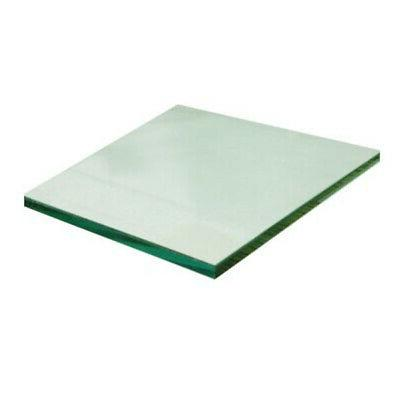 clear 12 x 16 tempered glass
