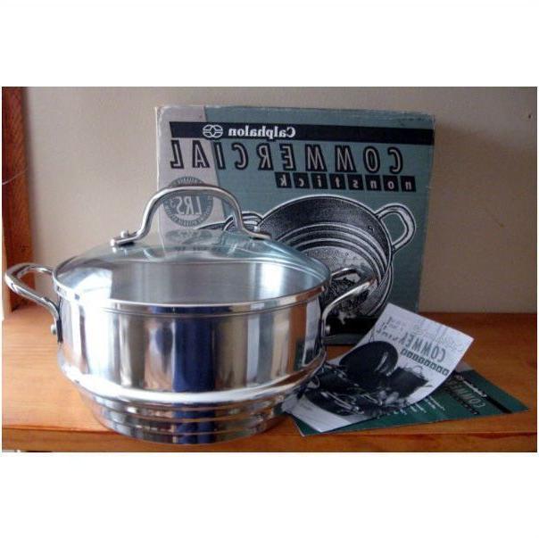 Calphalon Commercial Nonstick Universal Steamer & Tempered G
