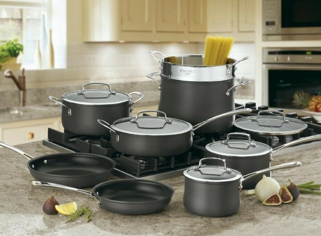 cookware set tempered glass lids saucepan dutch