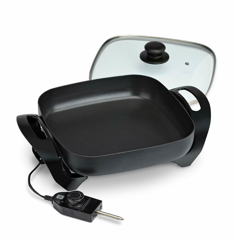 Electric Black Tempered Adjustable Control