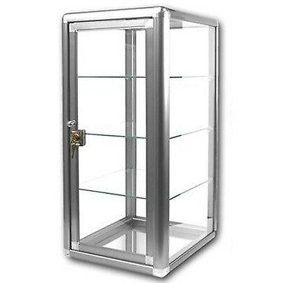 elegant silver anodized aluminum vertical