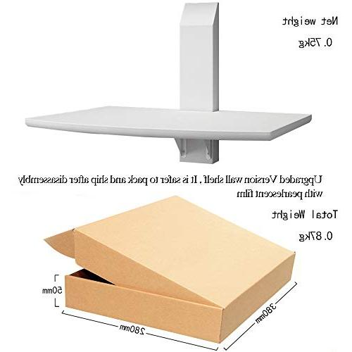 LQWQM Floating Shelf Wall for Livingroom TV Multimedia Accessories -