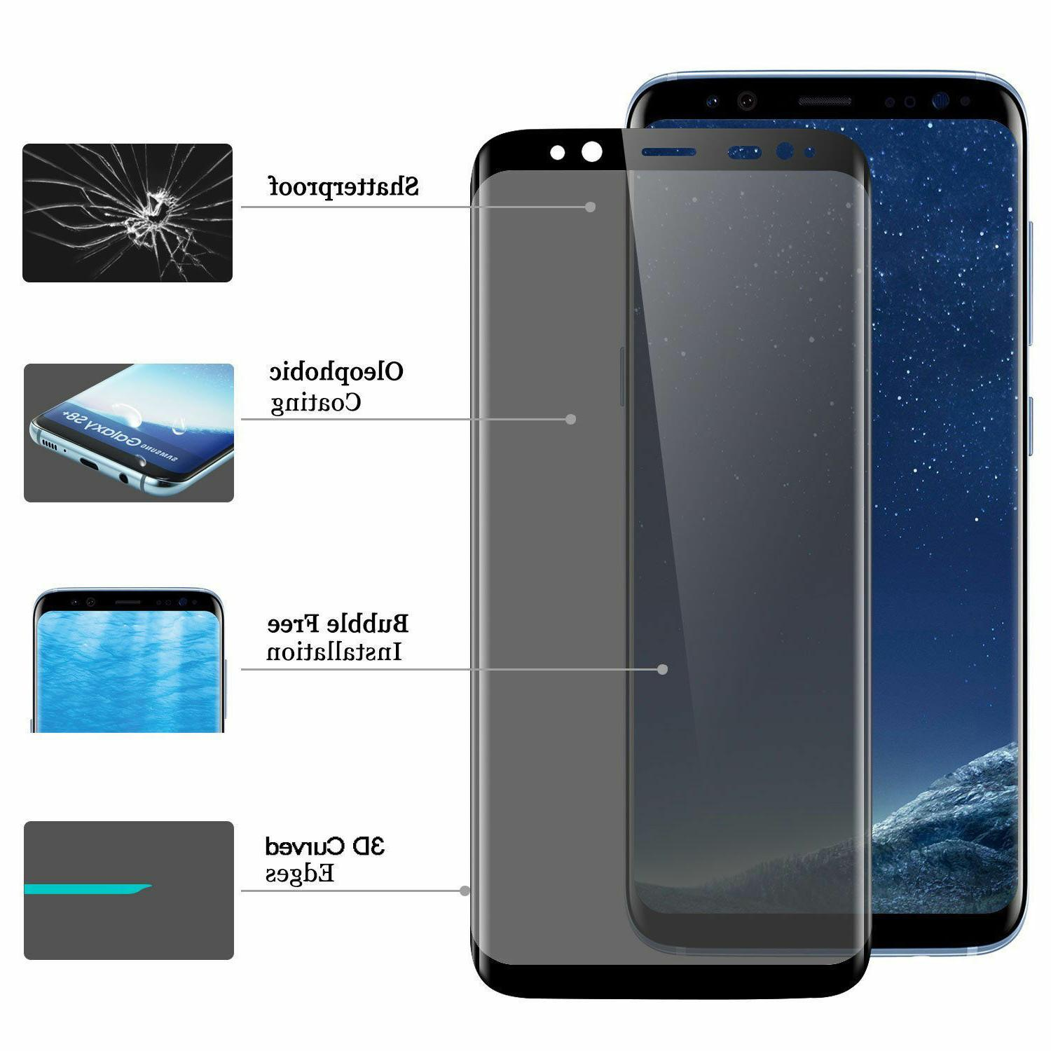 Full Tempered Screen Protector Galaxy S8 & Plus 9H