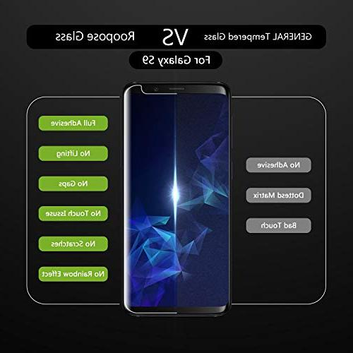 Roopose Galaxy S9 Screen Protector Tempe