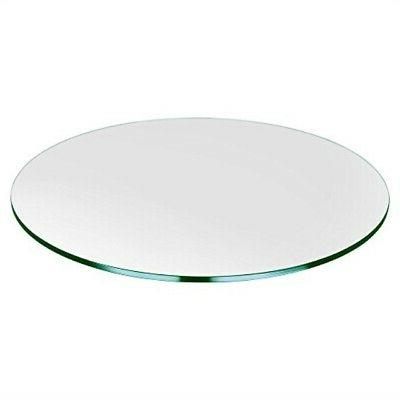 round glass table top 32 inch custom