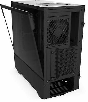NZXT - Compact ATX Case Tempered Black