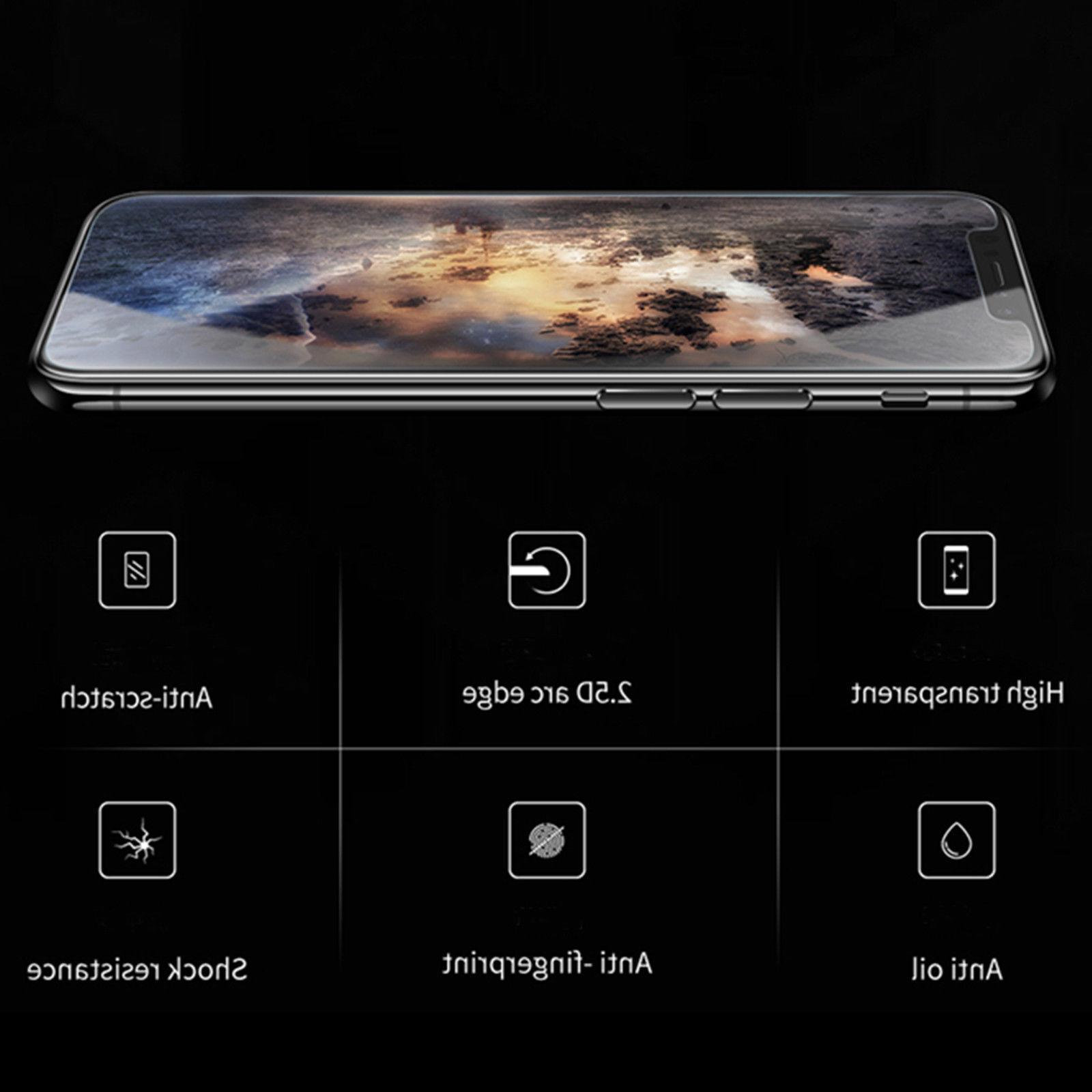iPhone X / /7 Premium Glass HD Screen Film Guard For