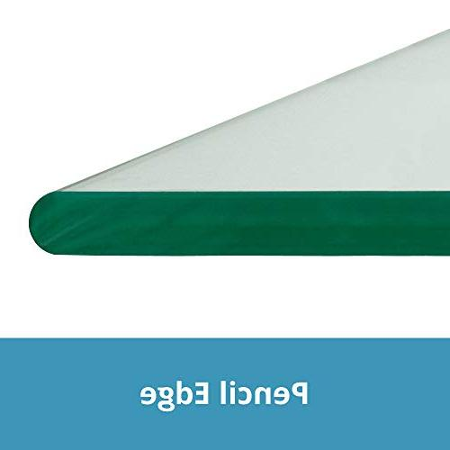 """TroySys Polished Glass Table Top Round 36"""" L"""