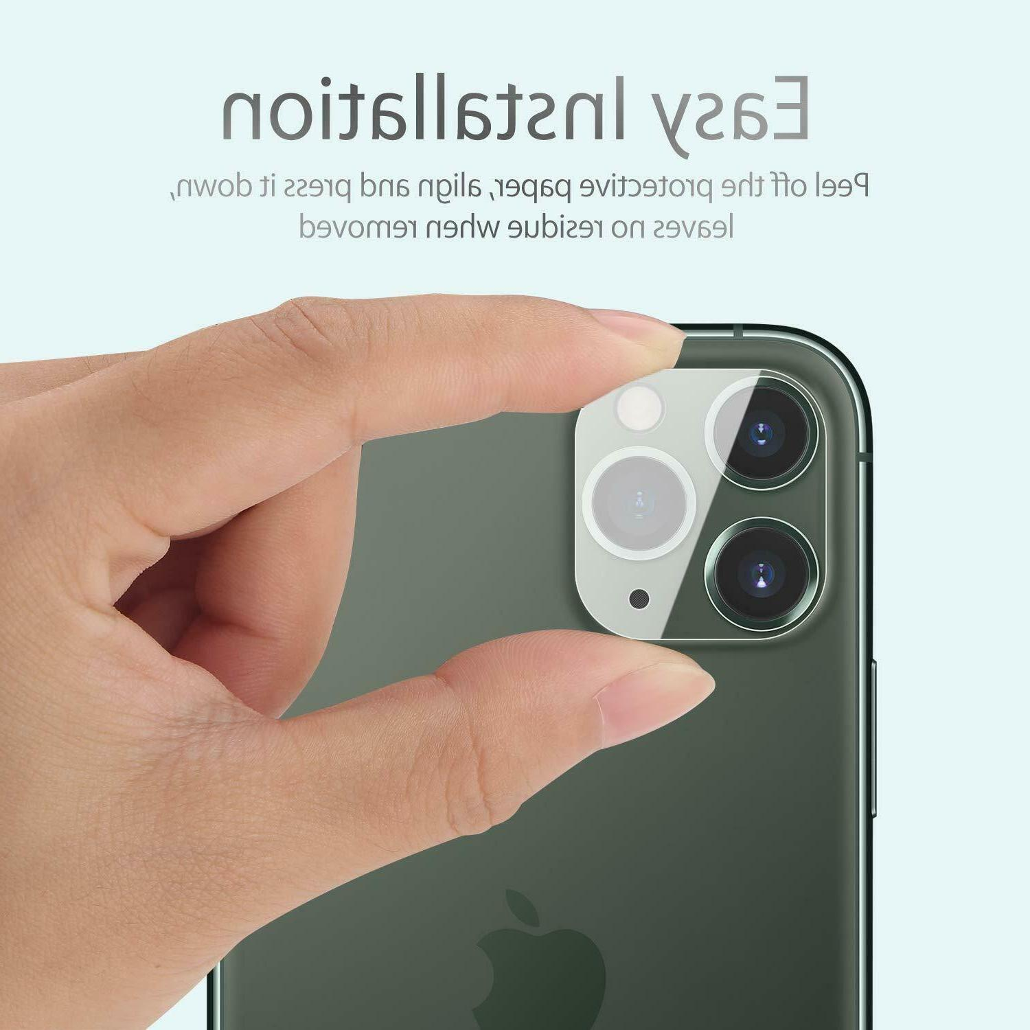 For 11 Max Glass Camera Lens Screen Protector