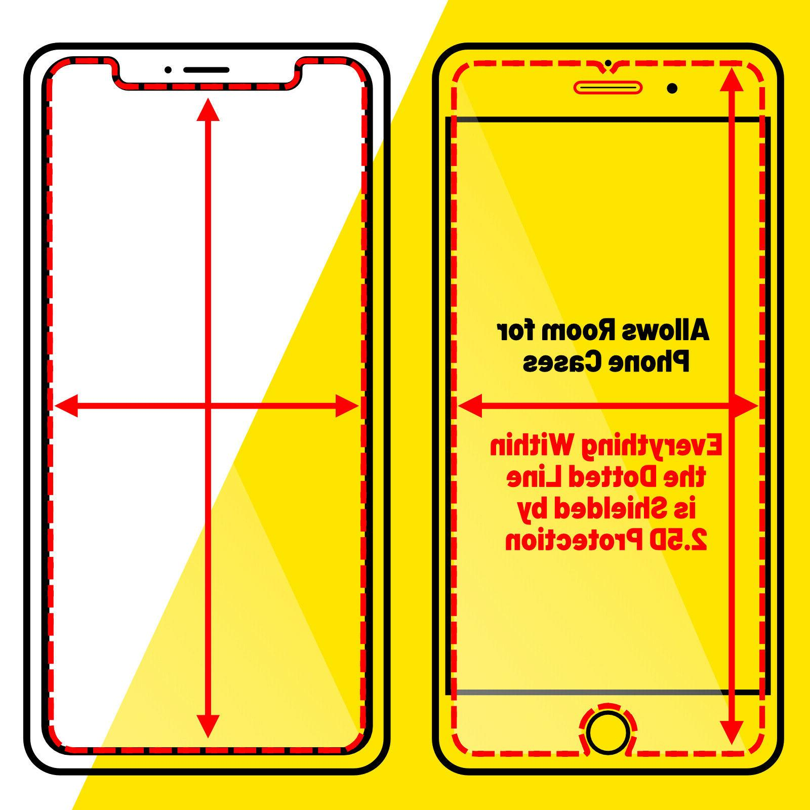 3 Pack XS X Plus TEMPERED Protector