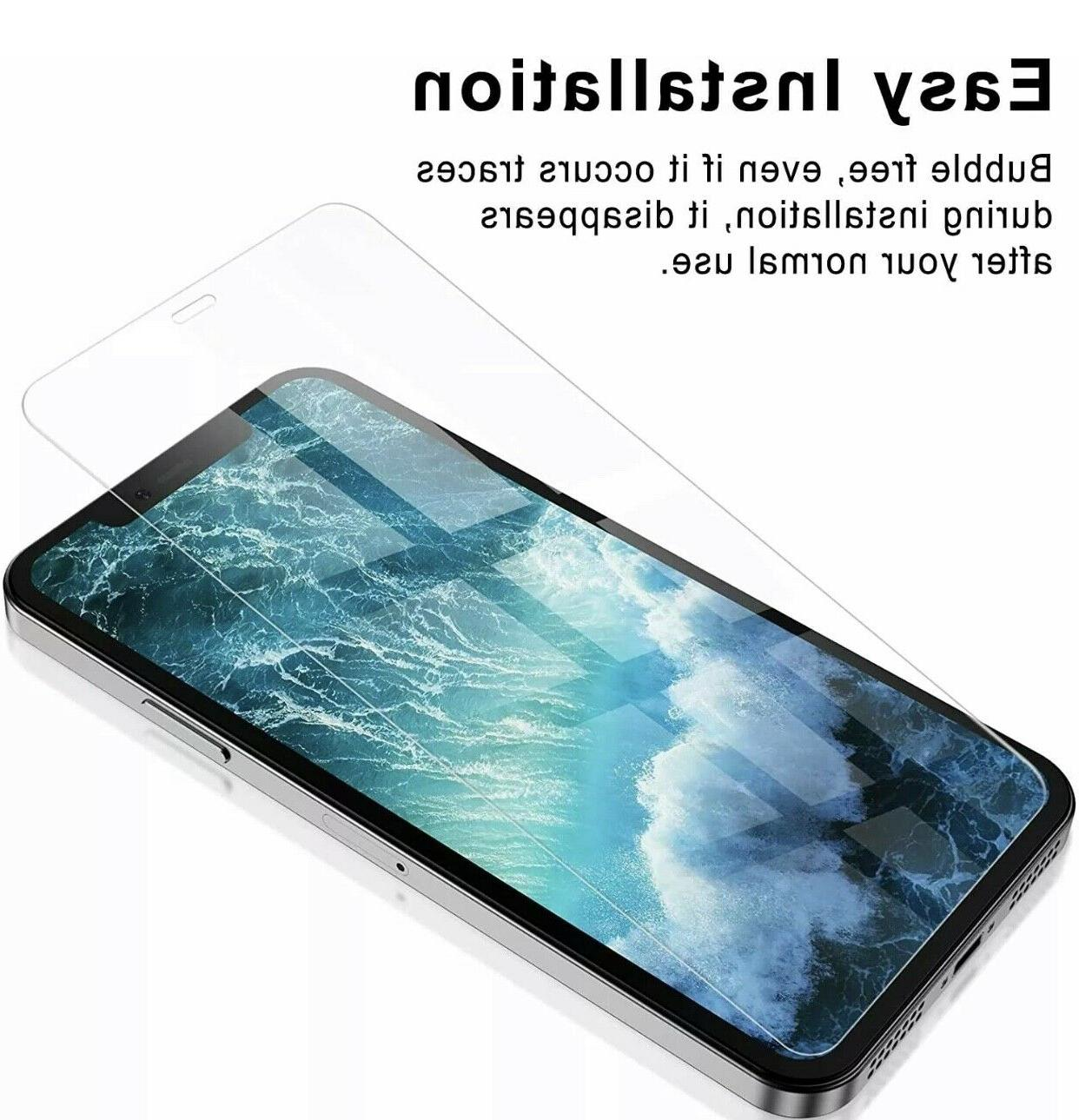 For iPhone Pro XS 8 Tempered
