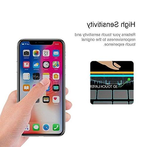 Xs/X Privacy Screen Loopilops Xs/X Glass Protector with iPhone Xs/X Privacy