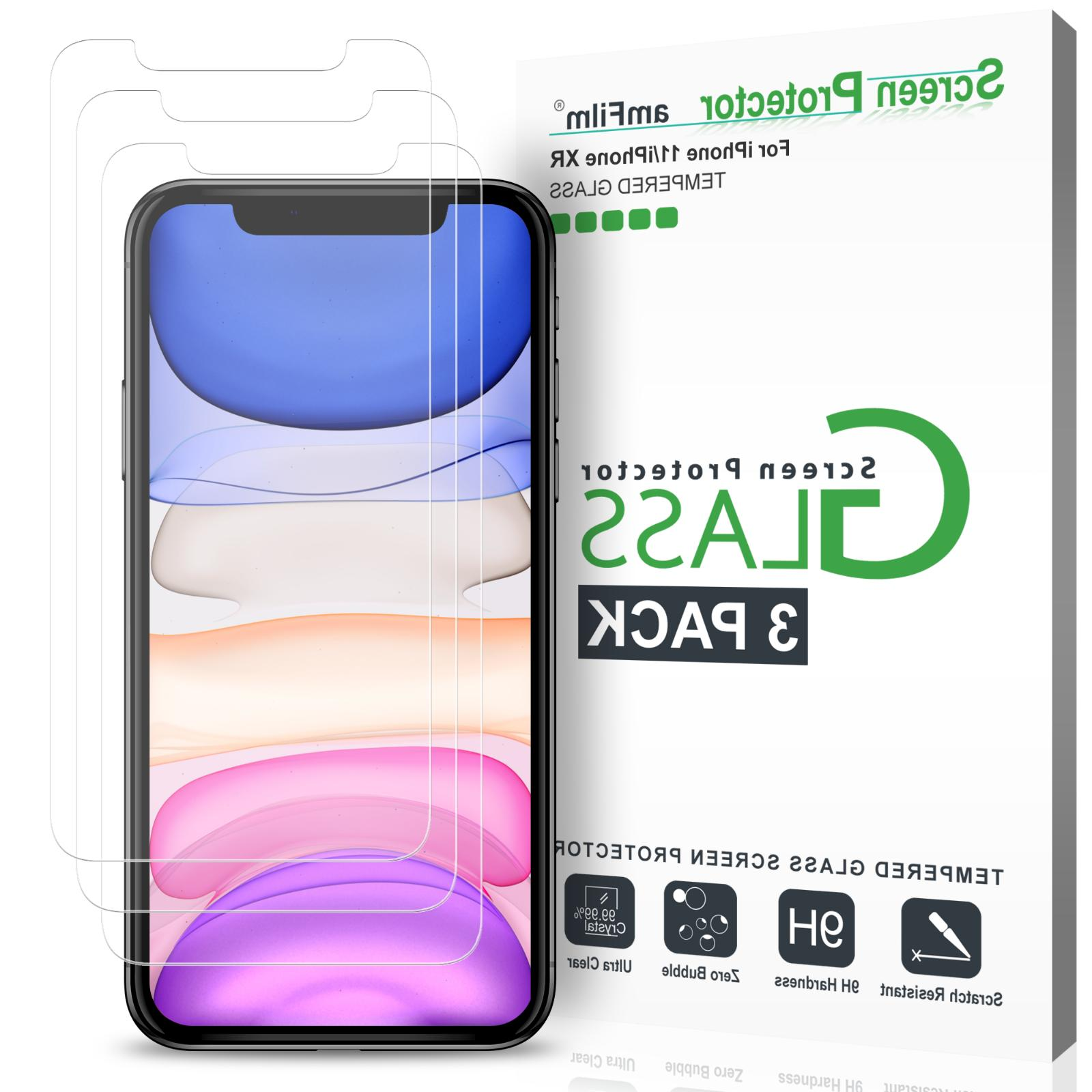 iphone xr tempered glass screen protector