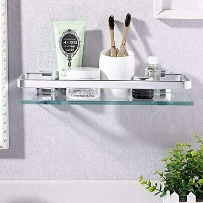 KES Glass Shelf Glass 1 Tier Extra