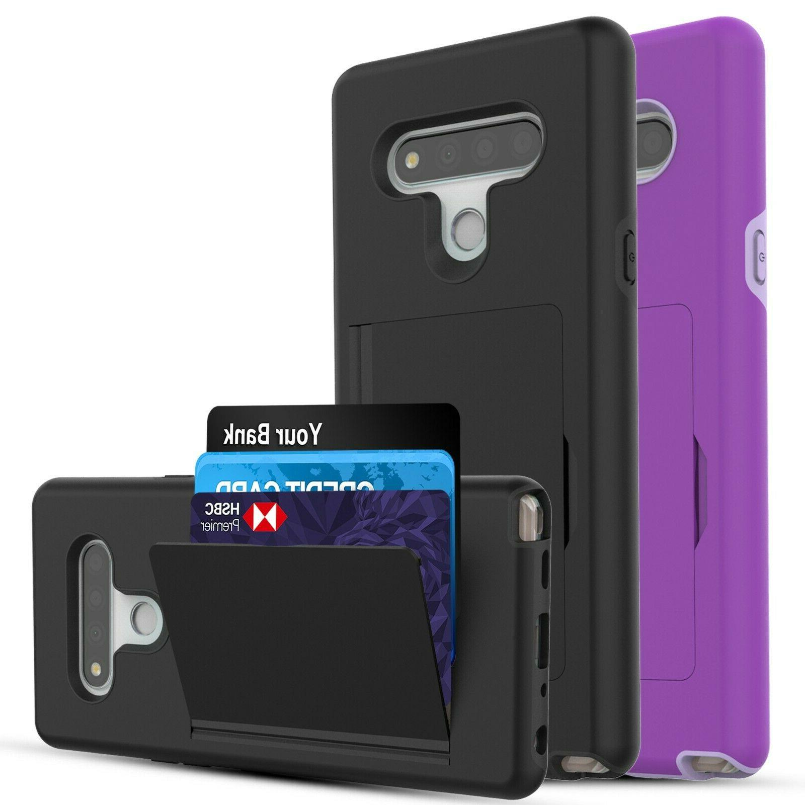 lg stylo 6 case wallet card holder