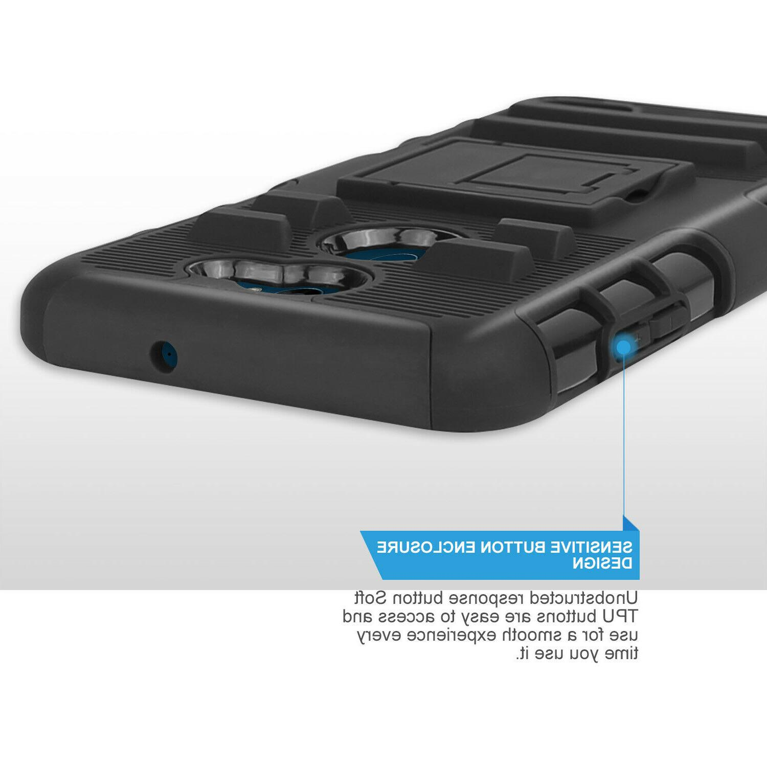 For LG 2 Rugged Case Glass