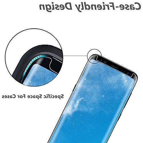 LuettBiden Samsung Galaxy S8 Tempered Protector,LuettBiden Screen Galaxy