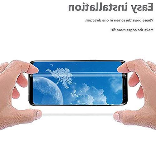 LuettBiden S8 Glass Screen Protector,LuettBiden Screen for Galaxy S8