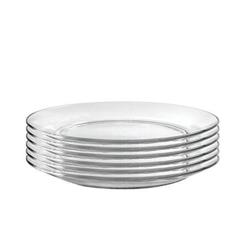 lys dinner plate set six