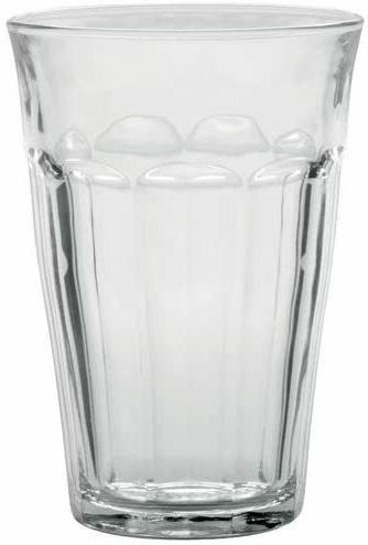 made in france picardie clear tumbler set