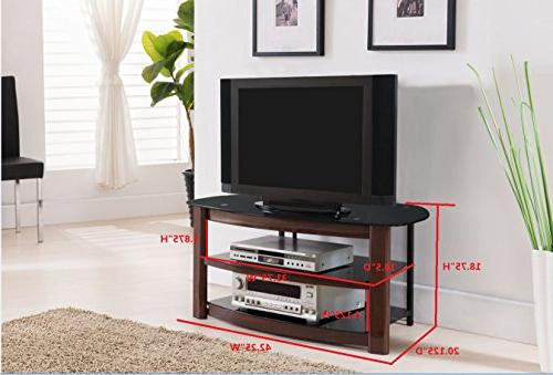 Kings Brand Furniture Glass Stand