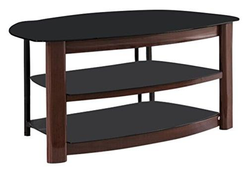 Kings Brand Furniture Metal/Tempered Glass Storage