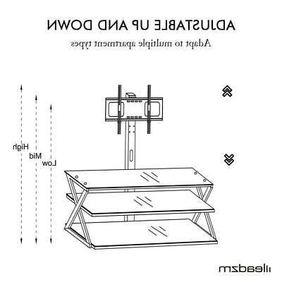 Multi-Function Floor with Shelf 32 65 TVs