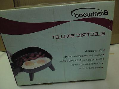 new electric skillets 32oz capacity nonstick cooking