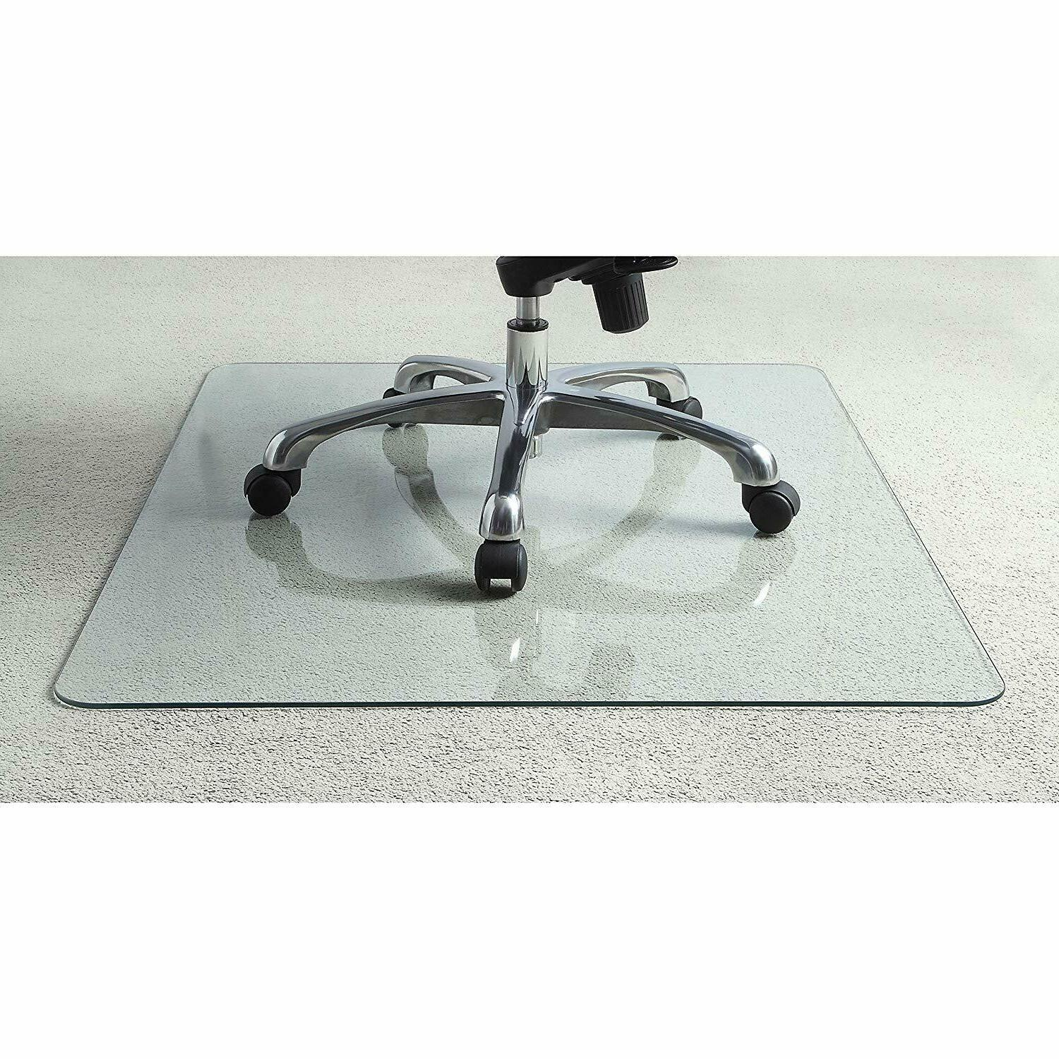 new tempered glass chair mat 82833