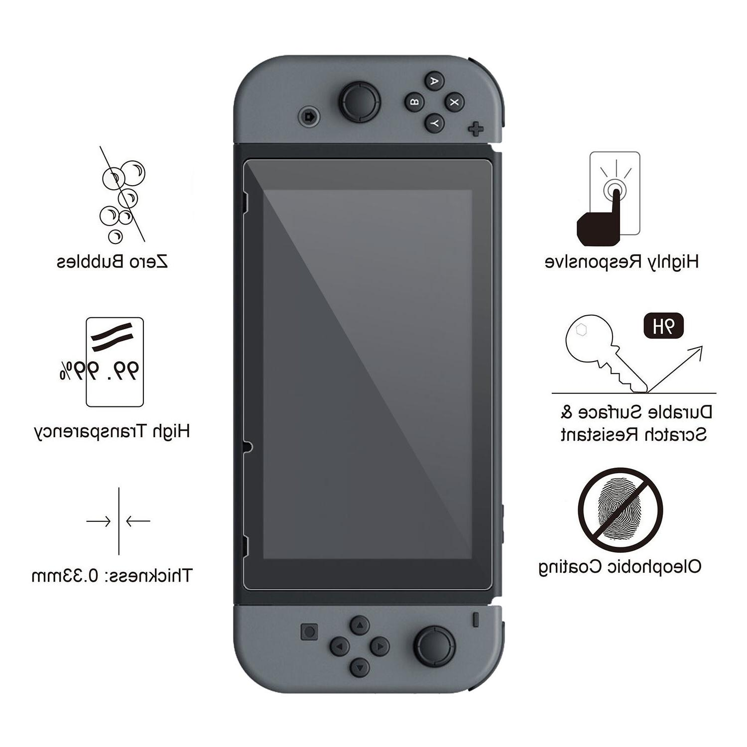Nintendo Switch Premium Tempered Screen Protector