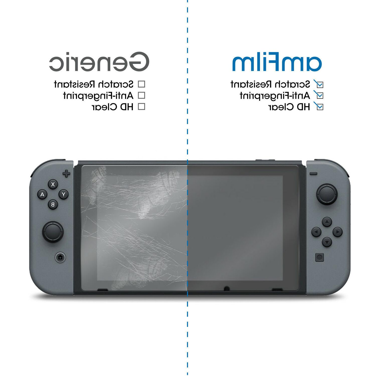 Nintendo amFilm Premium Tempered Screen